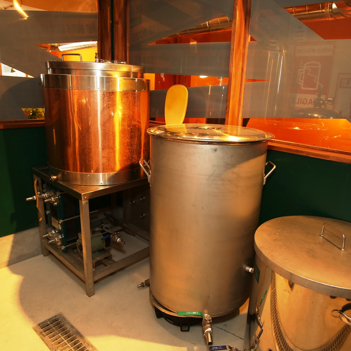 小規模ならではのビール作り
